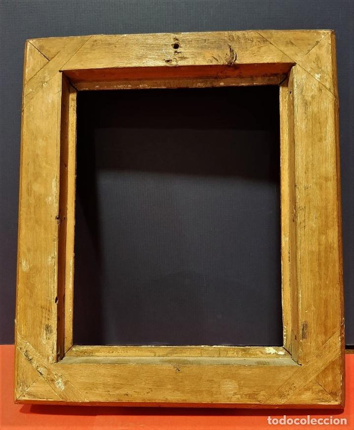 Antigüedades: Marco de madera dorada. Francia, s. XIX. - Foto 6 - 177081083