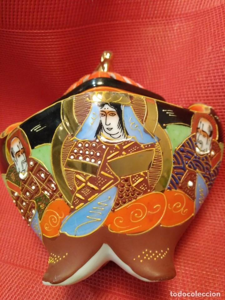 Antigüedades: Incensario satsuma - Foto 2 - 177082177