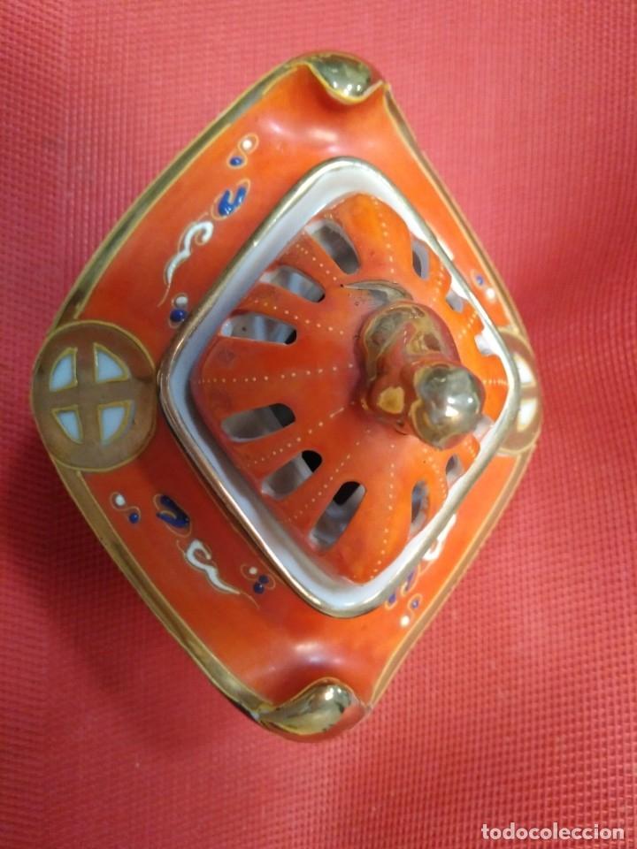 Antigüedades: Incensario satsuma - Foto 3 - 177082177
