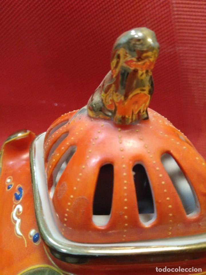Antigüedades: Incensario satsuma - Foto 5 - 177082177