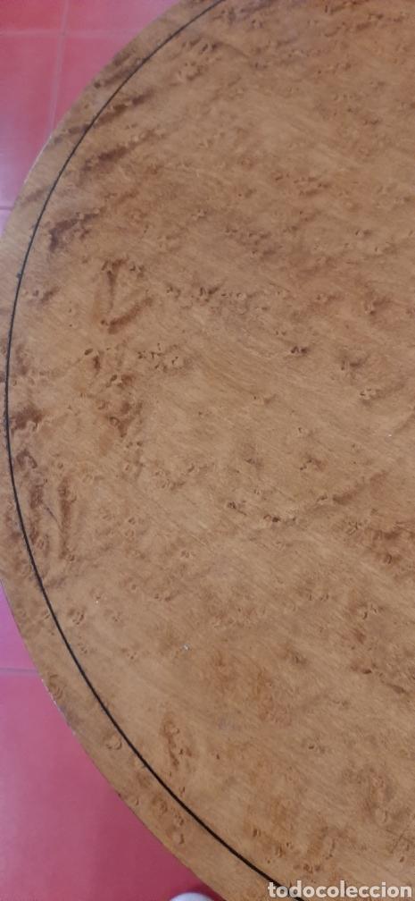 Antigüedades: Mesa velador auxiliar - Foto 4 - 177116010