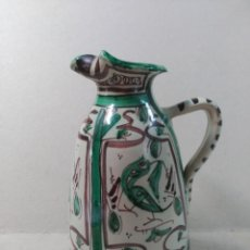 Antigüedades: JARRA DE CERAMICA TERUEL, PUNTER. Lote 177121178
