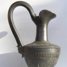 Antigüedades: JARRÓN OINOCOÉ. MITO DE DIANA Y ACTEÓN. REPRODUCCIÓN DE CALIDAD DE UNA PIEZA DE CERÁMICA GRIEGA.. Lote 177132848