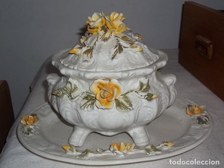 SOPERA (Antigüedades - Porcelana y Cerámica - Francesa - Limoges)