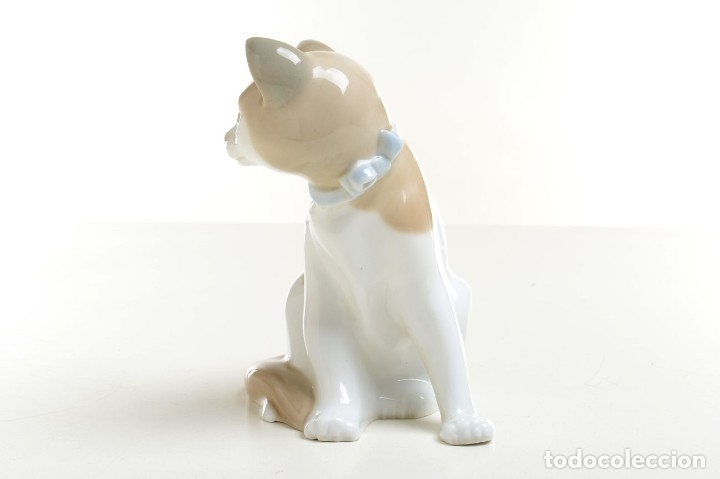 Antigüedades: gato de Nao de Lladró, figura Lladró, Lladró vintage, figura porcelana, porcelana española, gato - Foto 3 - 177136798