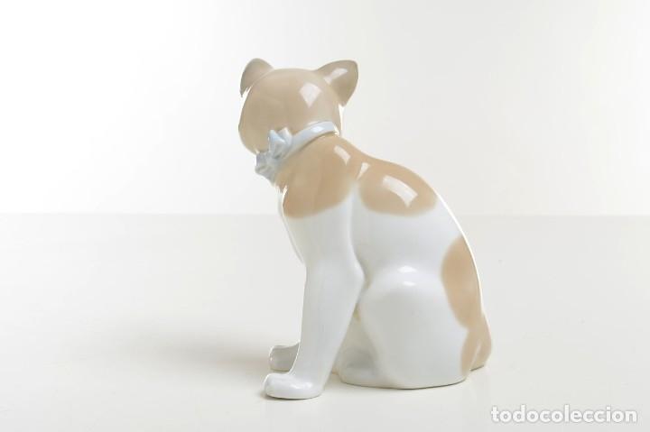 Antigüedades: gato de Nao de Lladró, figura Lladró, Lladró vintage, figura porcelana, porcelana española, gato - Foto 5 - 177136798