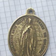 Antigüedades: MEDALLA RELIGIOSA A IDENTIFICAR.. Lote 177138044
