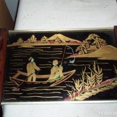 Antigüedades: BANDEJA JAPONESA. Lote 177138644