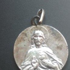 Antigüedades: MEDALLA ANTIGUA DE PLATA. Lote 177139305