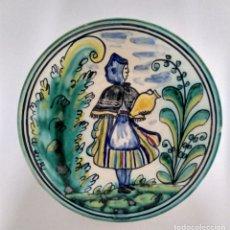 Antigüedades: PRECIOSO PLATO PUENTE DEL ARZOBISPO CYR. Lote 177140177