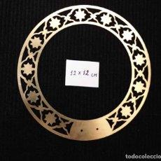 Antigüedades: CORONA DE LATON PARA IMAGEN RELIGIOSA. 12CM.. Lote 177143770