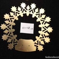 Antigüedades: PRECIOSA CORONA DE LATON PARA INMACULADA. 12CM. DE DIAMETRO. Lote 177144364