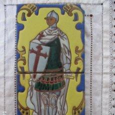 Antigüedades: PAREJA DE AZULEJOS CUERDA SECA. Lote 177203978