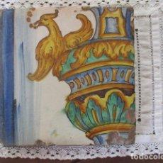 Antigüedades: AZULEJO VALENCIANO SIGLO XVIII. Lote 177204433