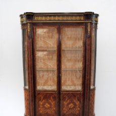 Antigüedades: ANTIGUA VITRINA IMPERIO. Lote 177206059