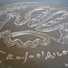 Antigüedades: 2 PLATOS DE CRISTAL RAFAEL ALBERTI CON CAJA. Lote 177208880