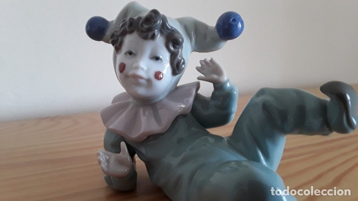 Antigüedades: Bufón porcelana Nao, Lladró - Foto 7 - 177210883