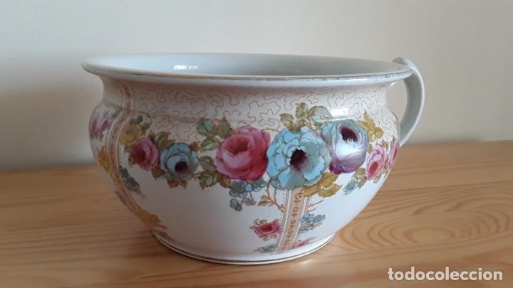Antigüedades: Orinal F. W. & Co. Semi porcelana inglesa - Foto 5 - 177211104