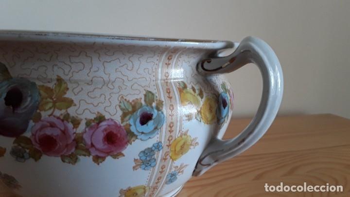 Antigüedades: Orinal F. W. & Co. Semi porcelana inglesa - Foto 7 - 177211104