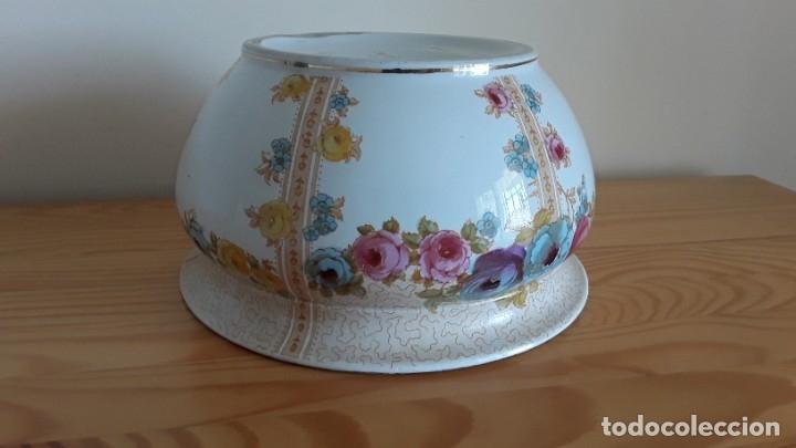Antigüedades: Orinal F. W. & Co. Semi porcelana inglesa - Foto 15 - 177211104