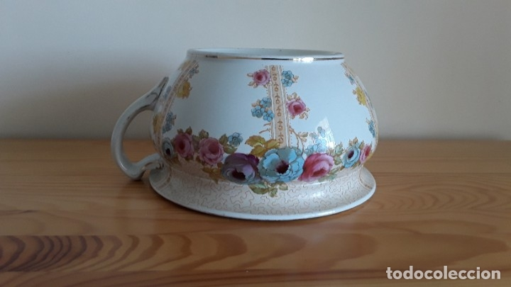 Antigüedades: Orinal F. W. & Co. Semi porcelana inglesa - Foto 16 - 177211104