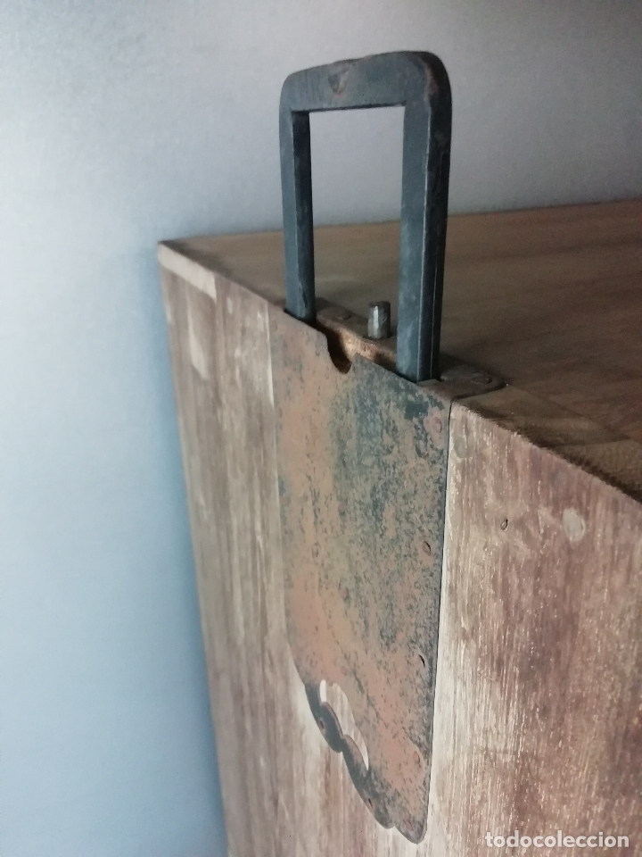 Antigüedades: Armario nupcial japonés de madera de paulonia - Foto 5 - 177185179