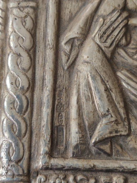 Antigüedades: ICONO DE PLATA CONTRASTADA 925 , MINIATURA , ICONA IN ARGENTO - Foto 4 - 177249840