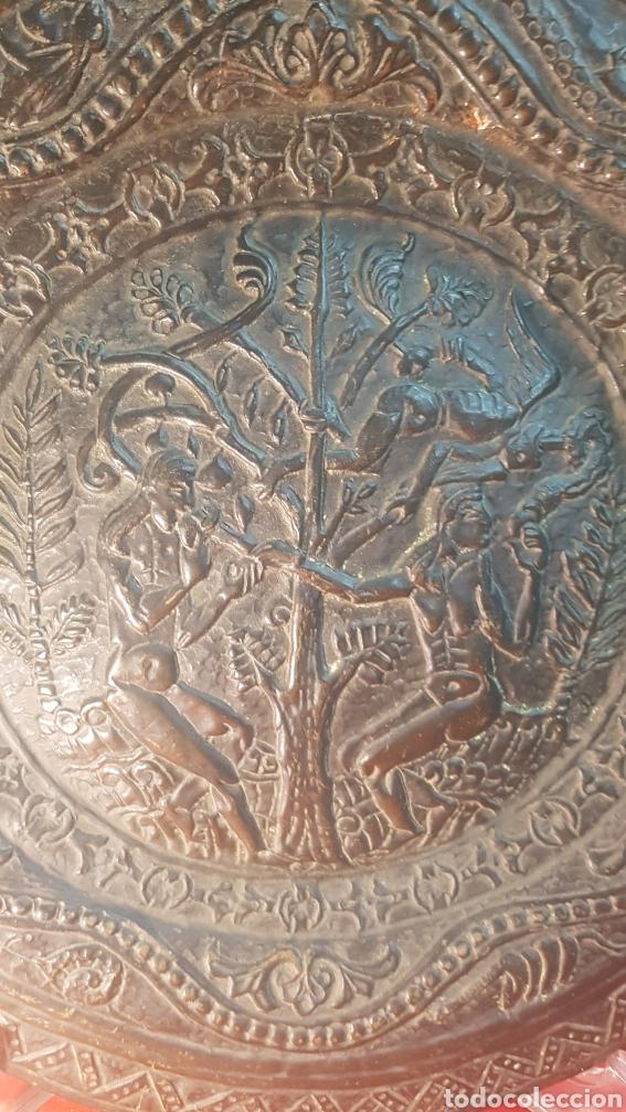 Antigüedades: Pareja de platos alemanes S.XVI - Foto 2 - 177273684