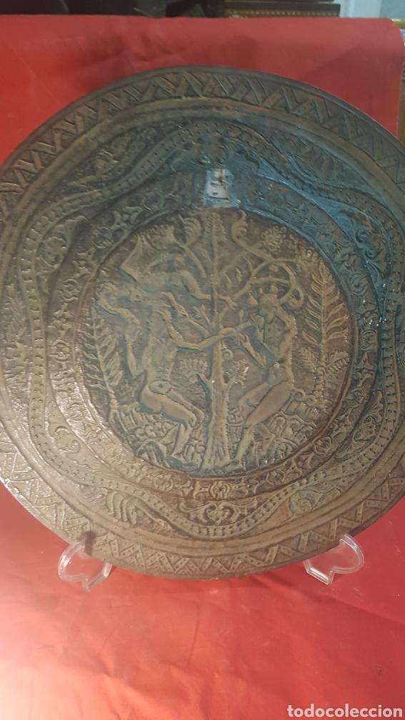 Antigüedades: Pareja de platos alemanes S.XVI - Foto 3 - 177273684