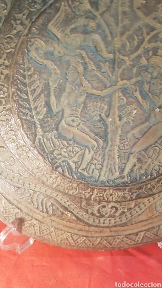 Antigüedades: Pareja de platos alemanes S.XVI - Foto 4 - 177273684