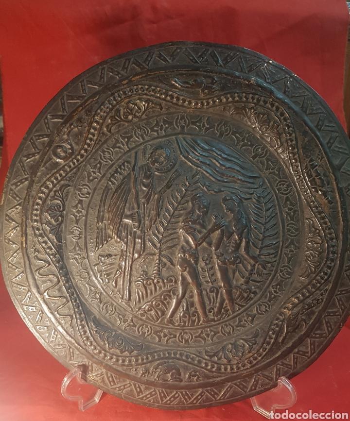 Antigüedades: Pareja de platos alemanes S.XVI - Foto 5 - 177273684