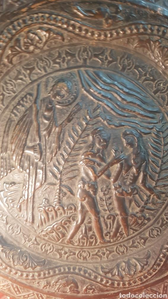 Antigüedades: Pareja de platos alemanes S.XVI - Foto 6 - 177273684