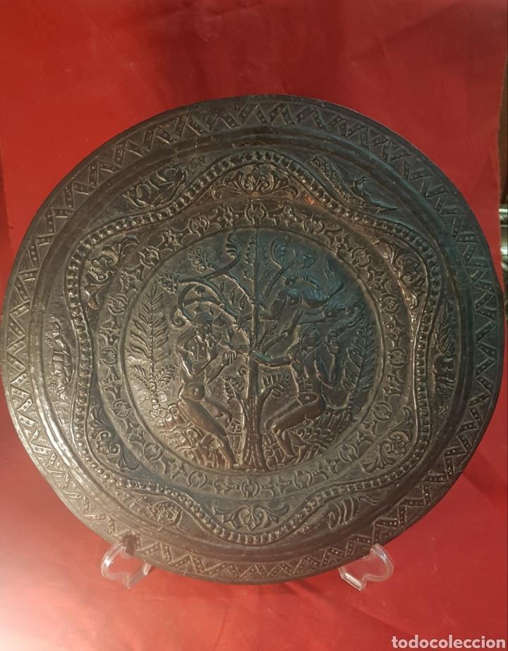 PAREJA DE PLATOS ALEMANES S.XVI (Antigüedades - Religiosas - Varios)
