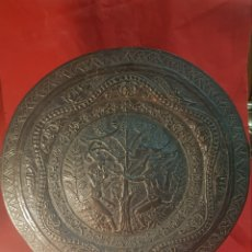 Antigüedades: PAREJA DE PLATOS ALEMANES S.XVI. Lote 177273684