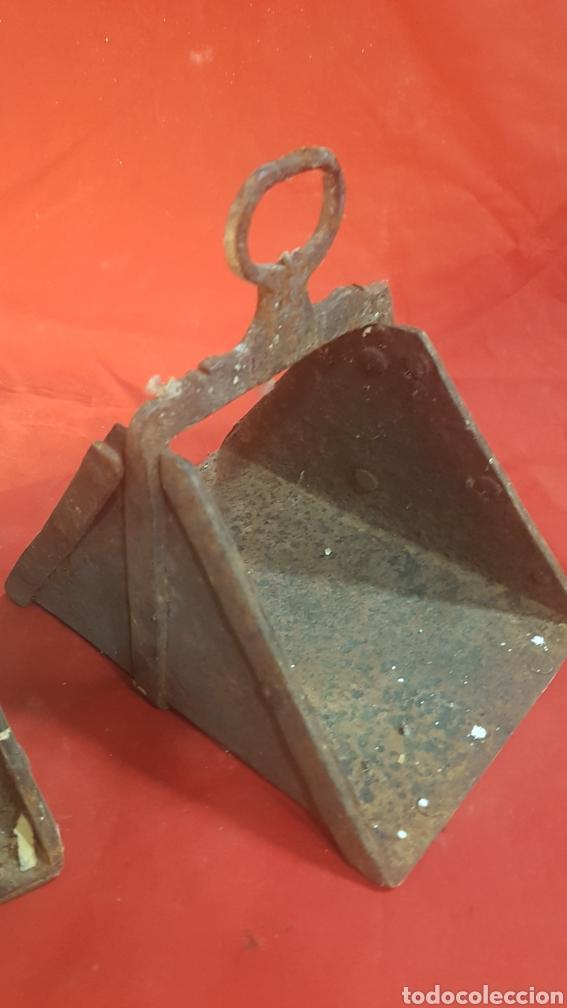 Antigüedades: Pareja de estribos S.XIX - Foto 3 - 177275875