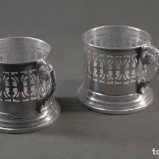 Antigüedades: TAZAS MENESES S.XX. Lote 177214054