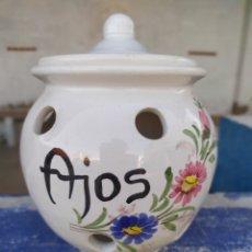 Antigüedades: TARRO AJOS. Lote 177304997