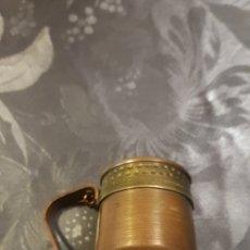 Antigüedades: CHOCOLATERA DE BRONCE. Lote 177312297