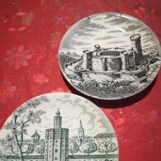 Antigüedades: PLATOS ORNAMENTALES CARTUJA DE SEVILLA. Lote 177327777