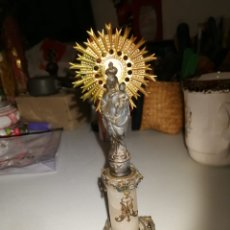 Antigüedades: ANTUGUA FIGURA RELIGIOSA MUY BONITA. Lote 177328695