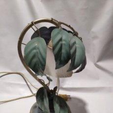 Antigüedades: LAMPARA INGLESA EN FORMA DE PLANTA. Lote 177376139