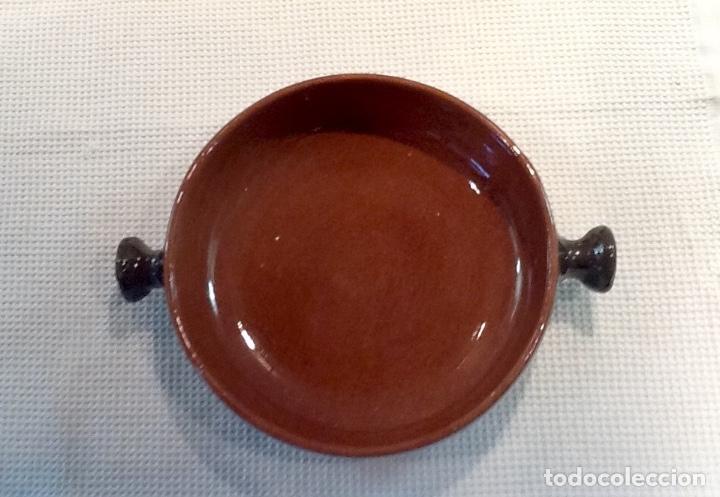 Antigüedades: Cáliz y Patena cerámica vitrificada Andina. Años '70. Impecable. - Foto 6 - 177383585