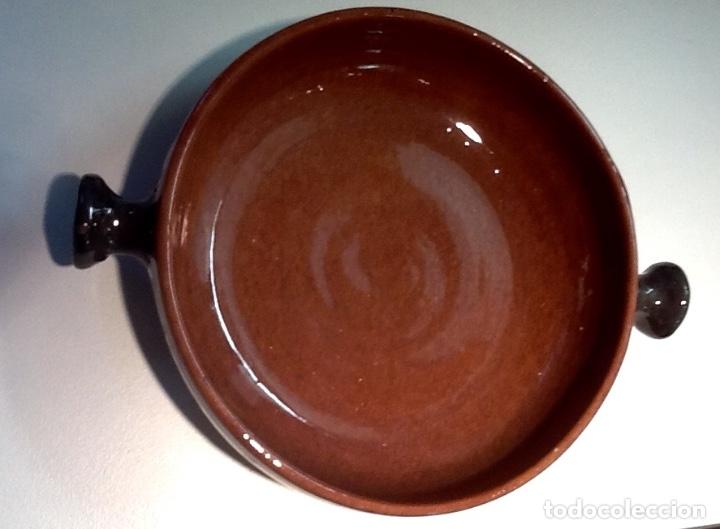 Antigüedades: Cáliz y Patena cerámica vitrificada Andina. Años '70. Impecable. - Foto 14 - 177383585