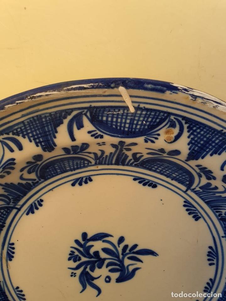 Antigüedades: Precioso plato Talavera? Siglo XIX - Foto 4 - 177426080