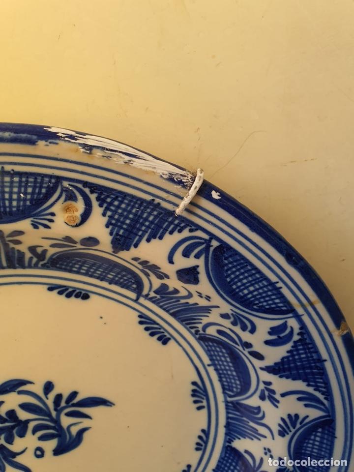 Antigüedades: Precioso plato Talavera? Siglo XIX - Foto 5 - 177426080