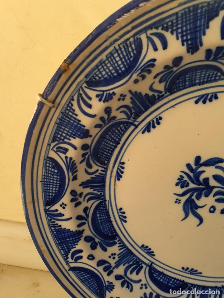 Antigüedades: Precioso plato Talavera? Siglo XIX - Foto 6 - 177426080