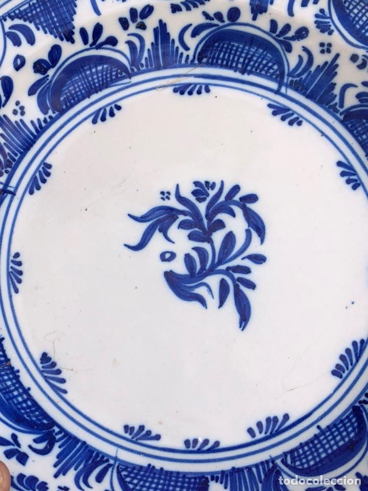 Antigüedades: Precioso plato Talavera? Siglo XIX - Foto 13 - 177426080