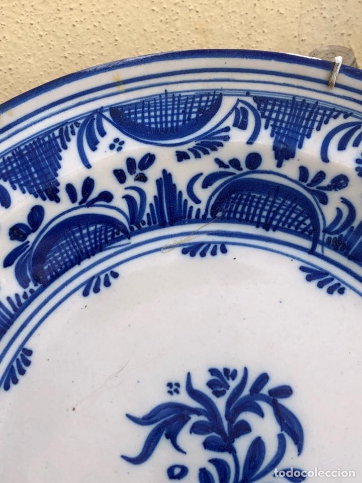Antigüedades: Precioso plato Talavera? Siglo XIX - Foto 14 - 177426080