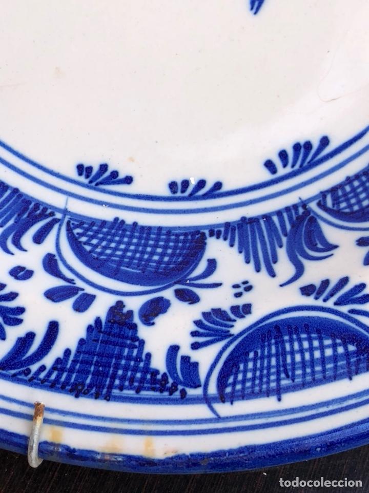 Antigüedades: Precioso plato Talavera? Siglo XIX - Foto 15 - 177426080