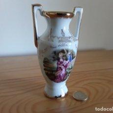 Antigüedades: PEQUEÑO JARRÓN PORCELANA LIMOGES . Lote 177430508